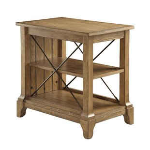 August Grove Henton 3-Tier End Table with Storage