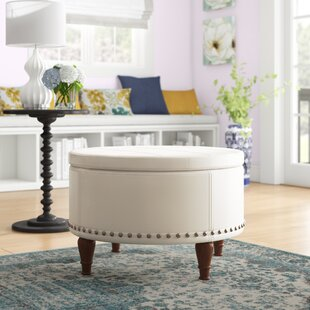 Hogsett Ottoman by Charlton Home
