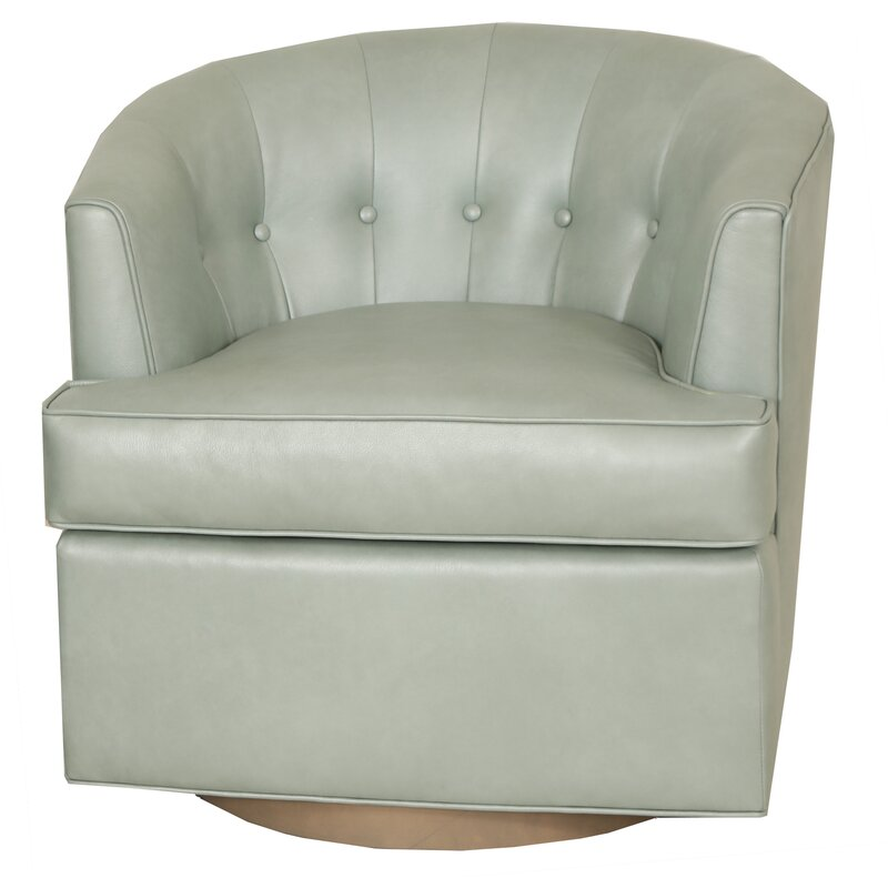 Companyc For Norwalk Furniture Vincent Swivel Barrel Chair