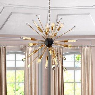 Mercer41 Kuehl 24-Light Sputnik Chandelier