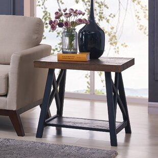 Online Reviews Evelia End Table by Darby Home Co