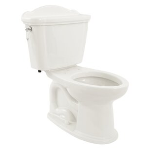 Toto Eco Whitney 1.28 GPF Elongated Two-Piece Toilet (Seat Not Included)