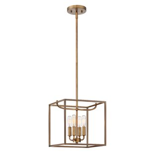 Bellicent 4-Light Square/Recta..
