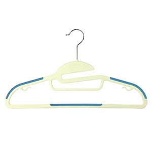Read Reviews Soft Grip and Specialty All In One Suit Non-Slip Hanger (Set of 8) ByRichards Homewares