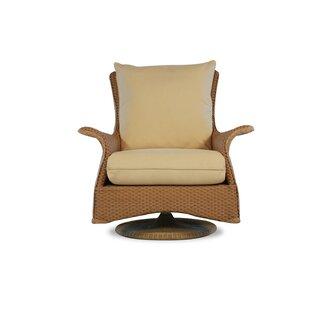 Great Reviews Mandalay Swivel Glider Chair with Cushions Lloyd Flanders