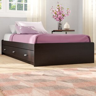 Distefano Twin Storage Platform Bed by Latitude Run
