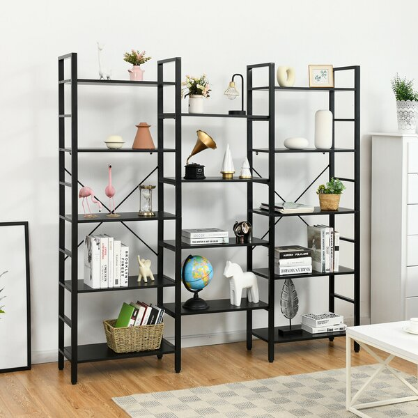Large Corner Bookcase 17 Stories Wayfair Ca