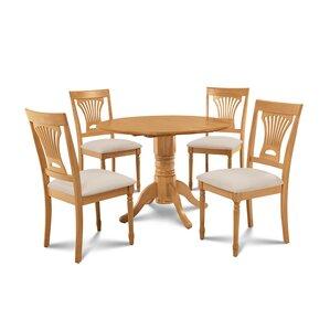 Chesterton 5 Piece Carved Oak Dining Set ..