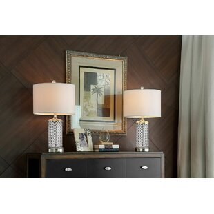 Mitcham Glass 26 Table Lamp (Set of 2)