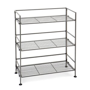 3-Tier Iron Slat Tower Shelving