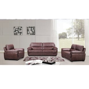 Bargain Rollins 3 Piece Living Room Set (Set of 3) by Loon Peak Reviews (2019) & Buyer's Guide
