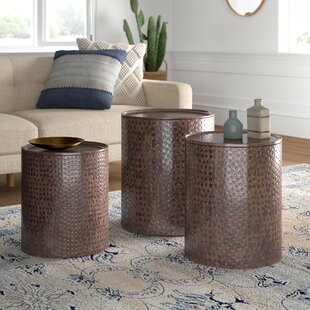 Adrianna 3 Piece Coffee Table Set