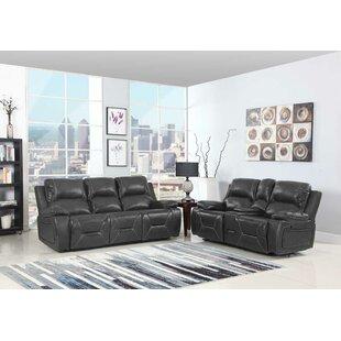 Red Barrel Studio Trower Reclining 2 Piece Living Room Set