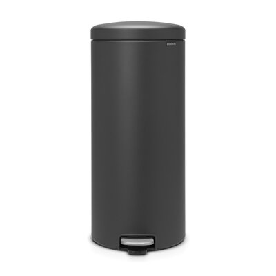 Terrific Brabantia Newicon 8 Gallon Step On Trash Can Color Mineral Bralicious Painted Fabric Chair Ideas Braliciousco