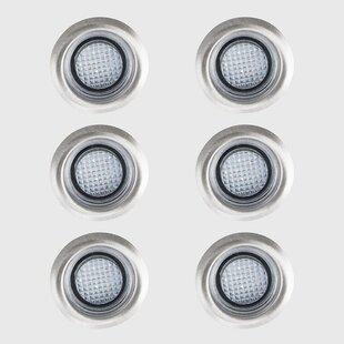 Berends 1 LED Step Light (Set Of 6) (Set Of 6) By Sol 72 Outdoor