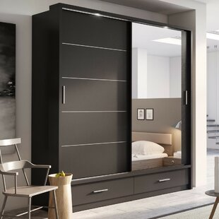 competitive price 49fba a4c9a Sliding Mirror Doors Wardrobes | Wayfair.co.uk