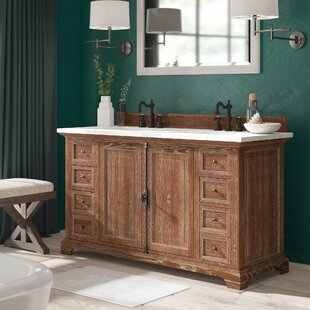 Top Reviews Ogallala 60 Double Bathroom Vanity Set By Greyleigh
