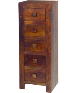 Munnar 5 Drawer Chest By Ethnic Elements
