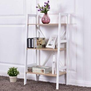 Tilton 3 Tier Ladder Storage Shelves Bookcase