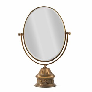 Online Reviews Stuck Makeup/Shaving Mirror By Astoria Grand