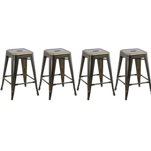 24 Stackable Bar Stool (Set of 4) by Famis Corp