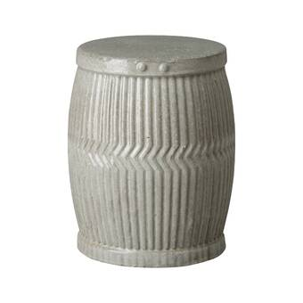 Mercury Row Knudsen Ceramic Garden Stool Reviews Wayfair