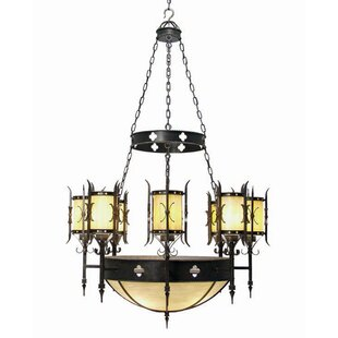 2nd Ave Design Sabrina 12-Light Shaded Chandelier