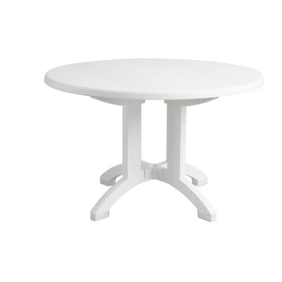 Aquaba Round 29.5 Inch Table by Grosfillex Expert Wonderful