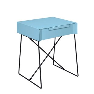 Emig 1-Drawer End Table with Storage by Ebern Designs