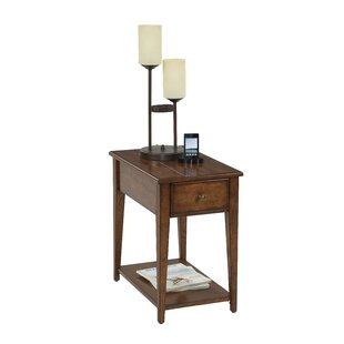 Vandalia Chairside Table by Alcott Hill