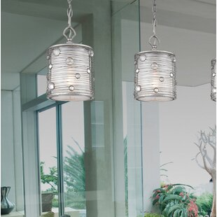 Willa Arlo Interiors Hermione 1-Light Cylinder Pendant