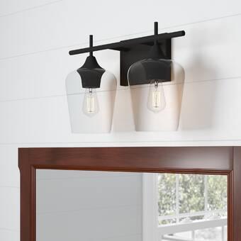 Longshore Tides Pearson 2 Light Dimmable Vanity Light Wayfair