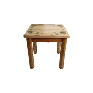 Leer End Table by Millwood Pines