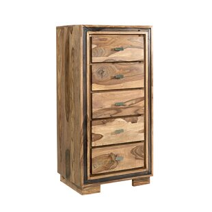 Johanna 5 Drawer Chest By Union Rustic