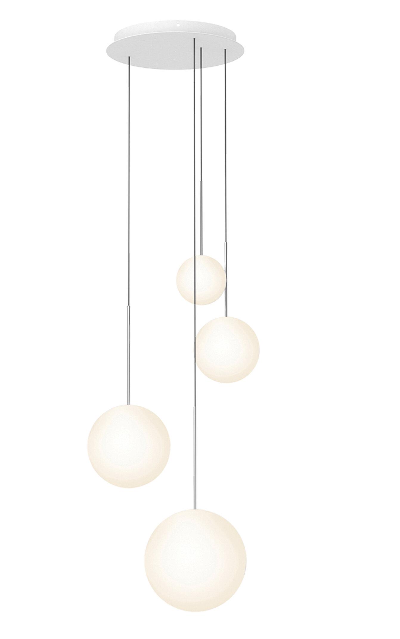 Pablo Designs Bola 4 Light Cluster Globe Led Pendant Wayfair Ca