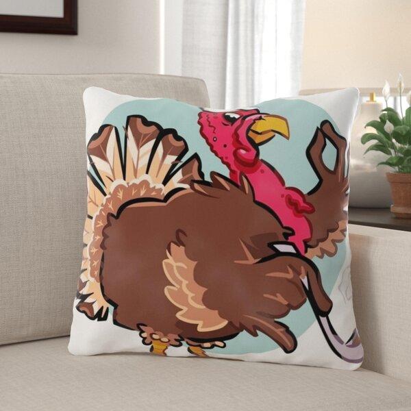 The Holiday Aisle Goris Turkey Indoor Outdoor Throw Pillow Wayfair
