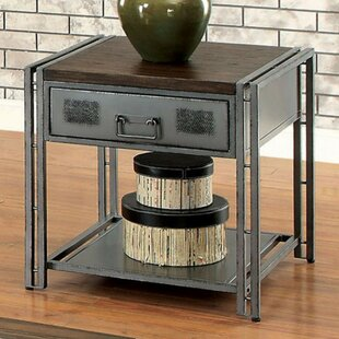 Mckittrick End Table with Storage by Williston Forge