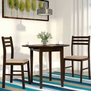 Lynbrook 3 Piece Dining Set by Andover Mills Modernt