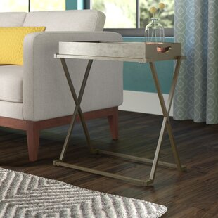 Perkins End Table by Wrought Studio