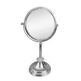 Buy clear Freestanding Magnifying Makeup Mirror ByElegant Home Fashions