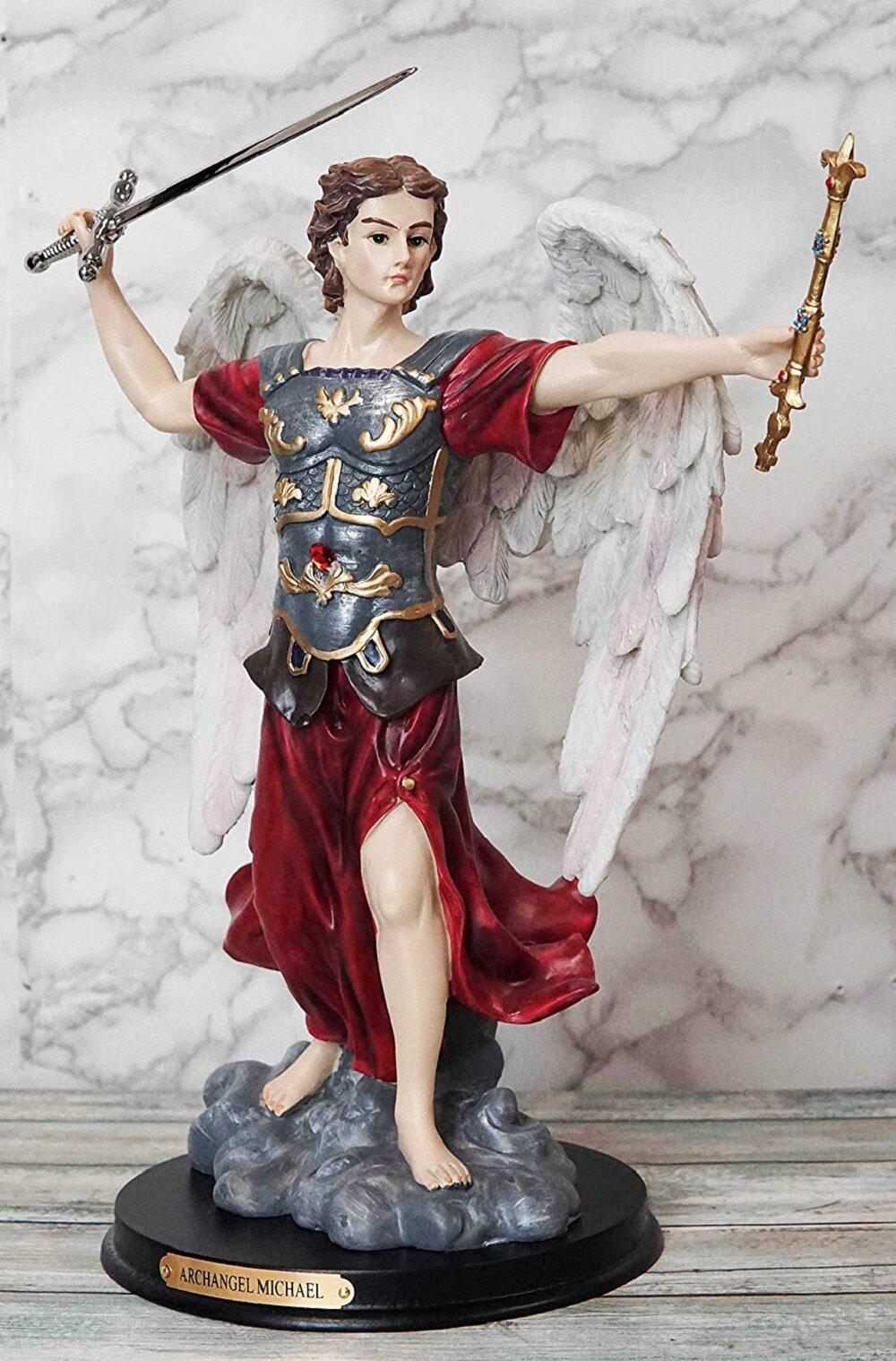 Winston Porter Mizuki Byzantine Eastern Orthodox Catholic Church Archangel Of The Angelic Council Figurine Wayfair