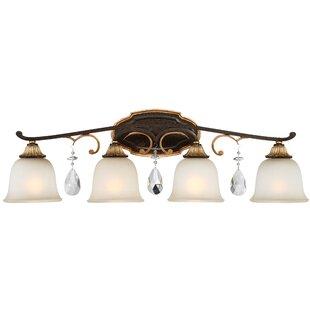 Metropolitan by Minka Chateau Nobles 4-Light Vanity Light