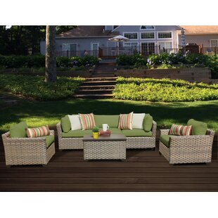 Monterey 6 Piece Sofa Set with Cushions by TK Classics
