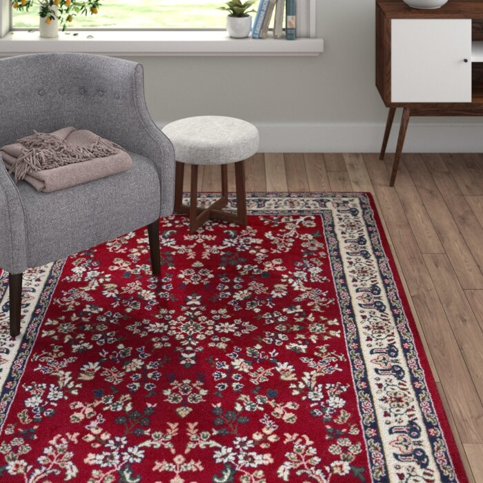 Albinson Red Rug