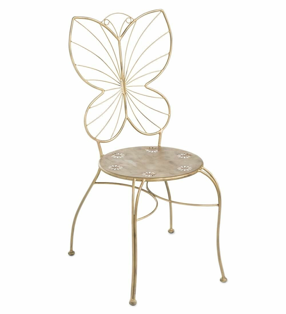 Great Wind U0026 Weather Butterfly Patio Dining Chair | Wayfair