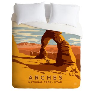 East Urban Home Arches Duvet Cover Set