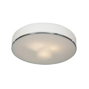 Mizpah 3-Light Outdoor Flush Mount