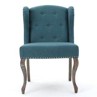 Beautiful Light Blue Wingback Chair | Wayfair FM14