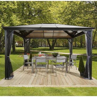 Whitnash Metal Patio Gazebo By Sol 72 Outdoor