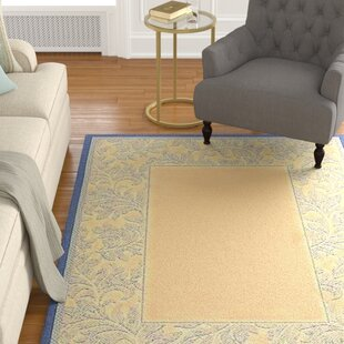 Fenmore Natural/Blue Indoor/Outdoor Area Rug
